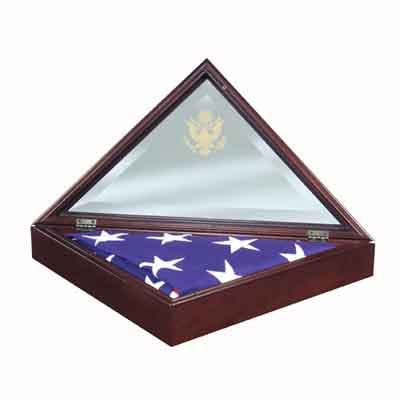 Presidential Flag Case - Open