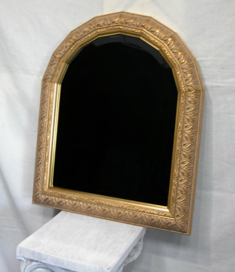 Custom Arched Top Mirror